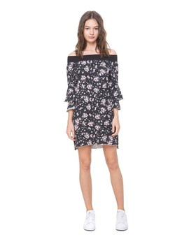 Beverly Garden Ruffle Sleeve Dress by Juicy Couture
