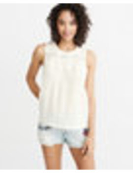 Lace Shell by Abercrombie & Fitch