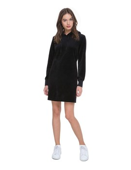 Velour Hooded Dress by Juicy Couture