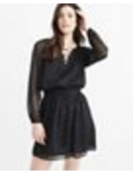 Lace Up Peasant Dress by Abercrombie & Fitch