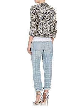 Hustin Quilted Cotton Linen Jacket by Isabel Marant Étoile