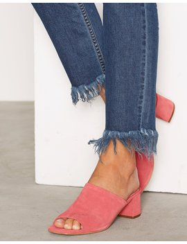 Nino Suede Mules by Topshop
