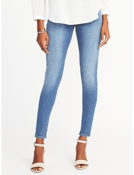 Mid Rise Built In Sculpt Rockstar Jeggings For Women by Old Navy