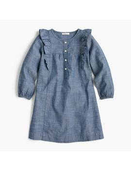 Girls' Chambray Dress by J.Crew