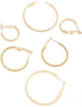Textured Hoop Multi Pack by Glassons