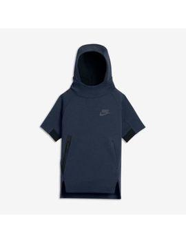 Nike Sportswear Tech Fleece Older Kids' (Boys') Short Sleeve Hoodie. Nike.Com Gb by Nike