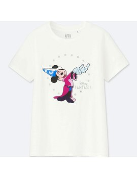 Women Disney Fantasia Collection Graphic T Shirt by Uniqlo