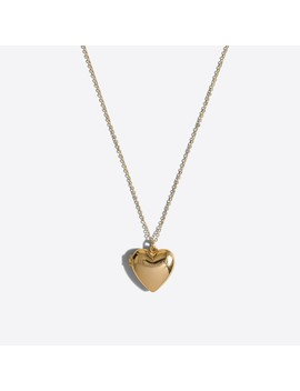 Girls' Heart Locket Necklace by J.Crew