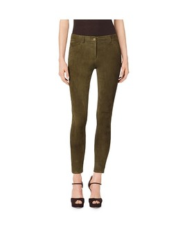 Stretch Suede Leggings by Michael Kors Collection