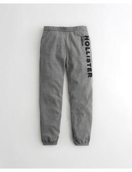 High Rise Banded Boyfriend Sweatpants by Hollister