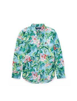 Tropical Cotton Oxford Shirt by Ralph Lauren