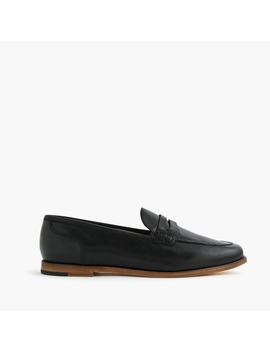 Ryan Penny Loafers In Leather by J.Crew