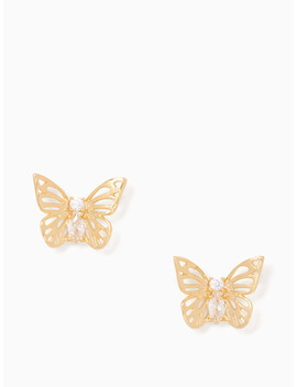 Social Butterfly Studs by Kate Spade