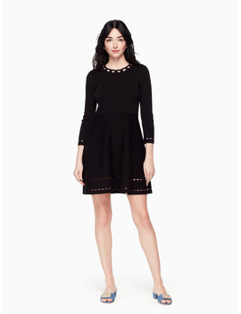 Fit And Flare Sweater Dress by Kate Spade