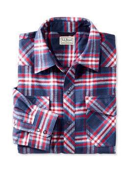 Overland Performance Flannel Shirt by L.L.Bean
