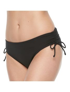 Women's Apt. 9® Side Tie Scoop Bikini Bottoms by Apt. 9