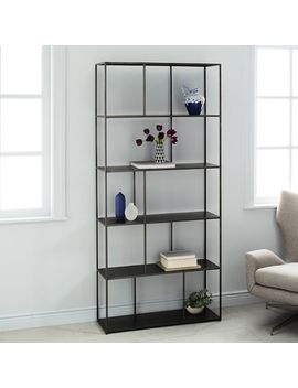 Linnea Bookshelf   Wide by West Elm