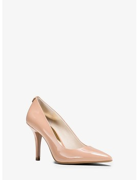 Flex Leather High Heel Pump by Michael Michael Kors