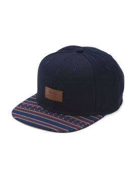 Allover It Snapback Hat by Vans