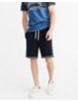 Side Stripe Fleece Shorts by Abercrombie & Fitch