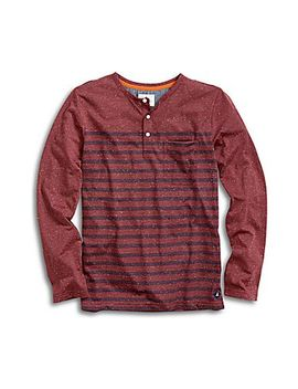 Men's Engineered Stripe Henley by Sperry