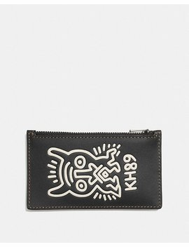 Coach X Keith Haring Zip Card Case by Coach