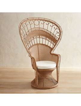 Peacock Woven Armchair by Pier1 Imports