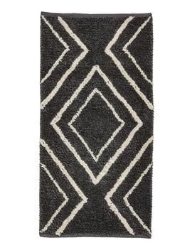 Jacquard Weave Wool Blend Rug by H&M