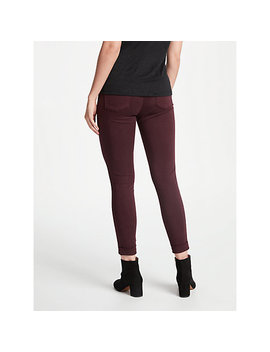 J Brand Maria Mid Rise Cuff Cropped Jeans, Bottany by J Brand