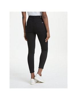 7 For All Mankind Aubrey Slim Illusion Jeans, Rinsed Black by 7 For All Mankind