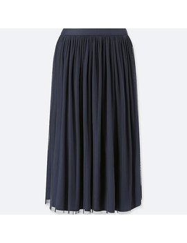 Women Reversible Tulle Skirt by Uniqlo