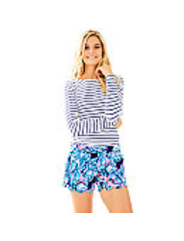 """5"""" Buttercup Stretch Twill Short by Lilly Pulitzer"""