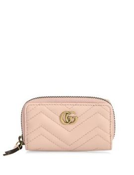 Marmont Leather Key Case by Gucci