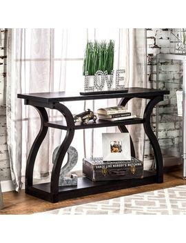 Furniture Of America 'sara' Black Finish Console Table by Furniture Of America