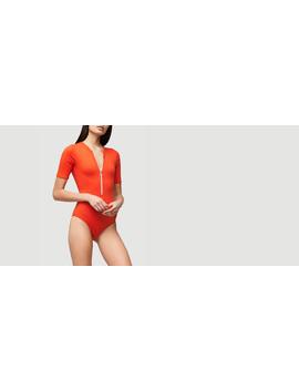 zip-up-bodysuit by frame