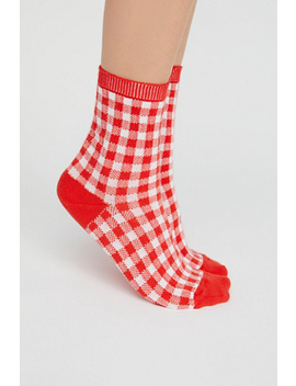 Gingham Crew Sock by Free People