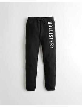 Logo Mid Rise Classic Sweatpants by Hollister