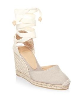 Carina Lace Up Espadrilles by Castaner
