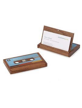 Cassette Business Card Case by Uncommon Goods