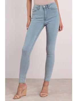 Calvin Klein Blue Hi Rise Legging Jeans by Tobi