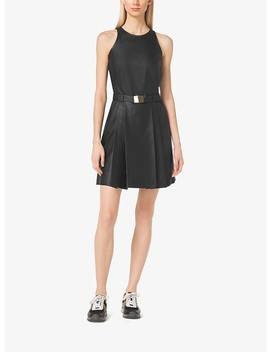 Perforated Belted Dress by Michael Michael Kors