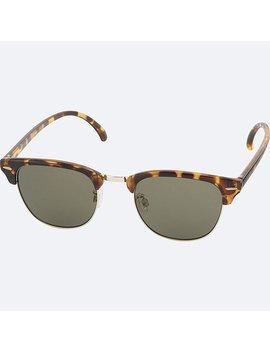 Unisex Brow Line Sunglasses by Uniqlo
