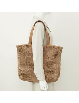 Women Ines Paper Tote Bag by Uniqlo
