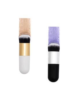 New Chubby Pier Foundation Brush Flat Cream Makeup Brushes Professional Cosmetic Make Up Brush  Portable Bb Flat Cream Free Ship by Art Beauty Store