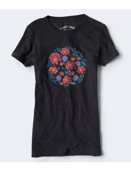Floral Circle Graphic Tee by Aeropostale