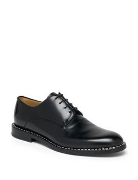 Metal Stitch Blucher Lace Ups by Fendi