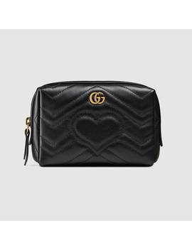 Trousse à Maquillage Gg Marmont by Gucci