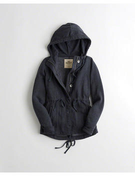 Fleece Shirt Jacket by Hollister