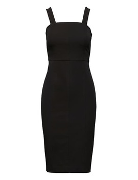 Structured Sheath Dress by Banana Repbulic