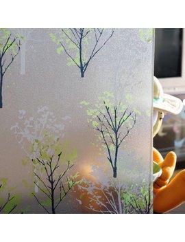Removable Pvc Privacy Window Sticker Thick Vinyl Static Glass Film Anti Uv 1.5/2 M Trees by Walmart